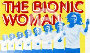 Bionic Woman replicated to represent sound movement