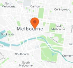 Map of City of Melbourne