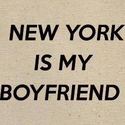 New York is my Boyfriend