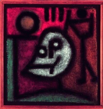 Painting by Paul Klee