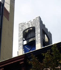 Hidden water tower