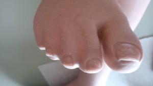 Pretty fake toes