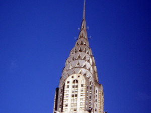 Chrysler Building Blue Skies